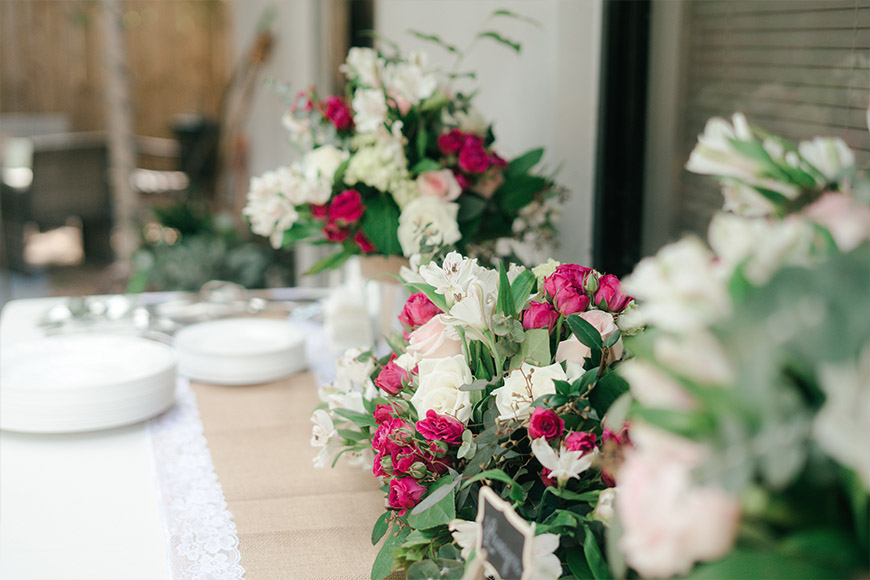 wedding party catering services in Dubai